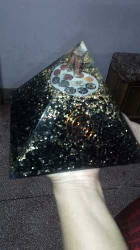 Handcrafted Natural Orgone Pyramid