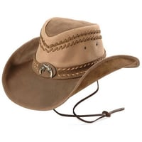 Suede Leather Sport Hat