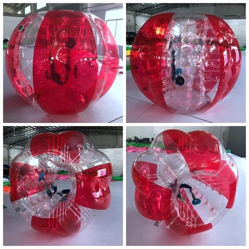 PVC/TPU Inflatable Human Soccer Football Bumper Ball