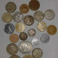 Antique Metal Currency Coins