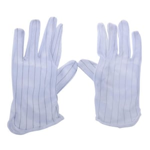 ESD Safe Anti Static Disposable Fabric Gloves