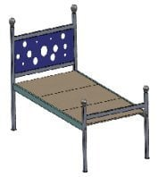 Metal Single Cot Bed