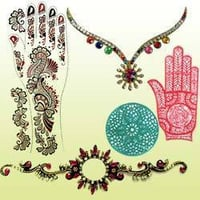 Henna Tattoo For Hand And Body