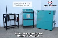 Induction Silver Melting Furnace
