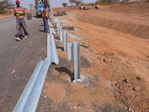 Robust Structure Steel Guard Rail