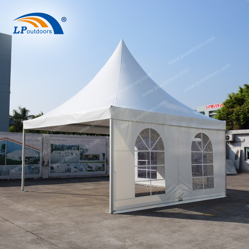 5X5M Outdoor Pagoda Tent Custom Print For Events Exhibition