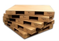 Industrial Brown Corrugated Pallets