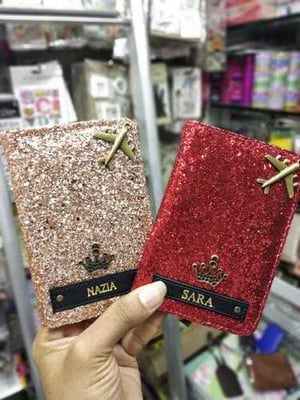 Customized Leather Passport Covers