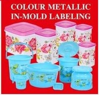 Color Metallic In Mold Labeling