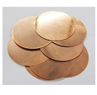 Scratch Resistance Copper Circle