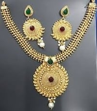 Heavy Gold Plated Necklace