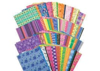 Printed Custom Color Craft Papers