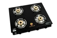 Gas Stove With Gas Safety Device (Inbuilt)