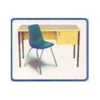 School Teacher Table and Chair