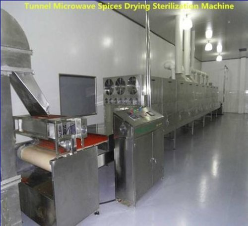 Continuous Spice Processing Machine Spices Dryer Sterilizer