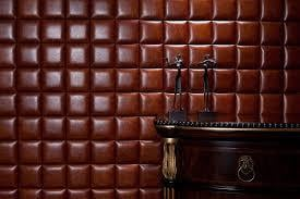 Brown Color Leather Wall Tiles