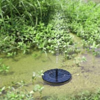 Outdoor Mini Garden Landscaping Solar Floating Water Fountain