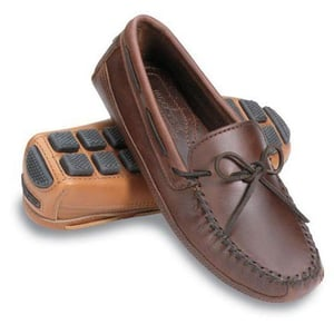 Mens Moccasin Leather Shoes