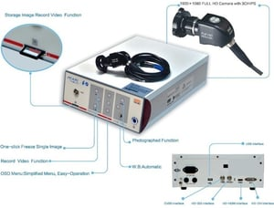 Endoscope Camera With 3 Chip (Full HD)