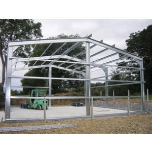 Stainless Steel Shed Shelters