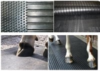 Hammer Groove Cow Stable Mat