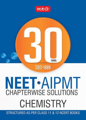 30 Years Neet-Aipmt Chapterwise Solutions Chemistry 2018 Books