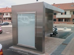 Stainless Steel Bus Shelters