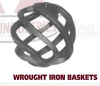 Wrought Iron Gate Grill Basket