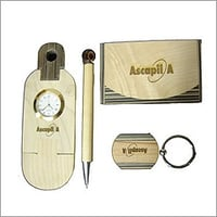 Corporate Wooden Gift Set
