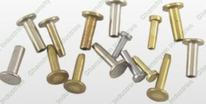 Highly Durable Brass Rivets
