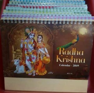 Religious Printed Table Calendars