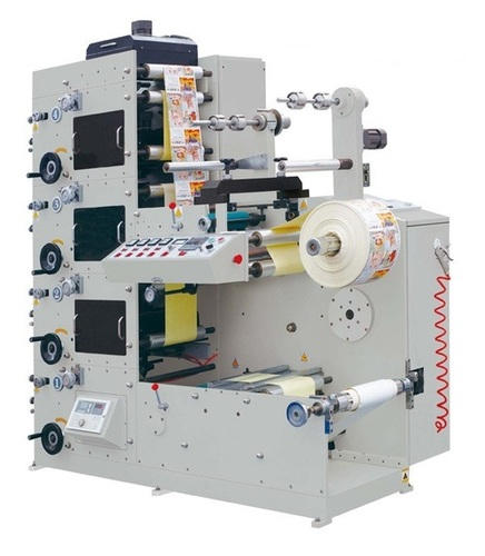 1-8 Colors Flexo Printing Machine For Label