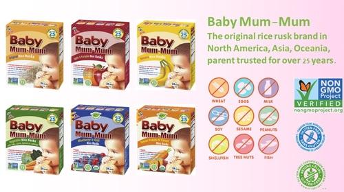 Baby Mum-Mum Baby Snacks