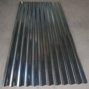 Corrosion And Abrasion GI Roofing Sheets