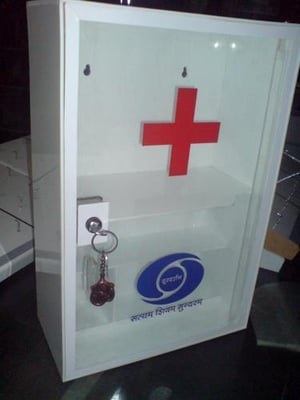 Durable Acrylic Cover Cabinet
