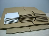 Brown Corrugated Paper Board