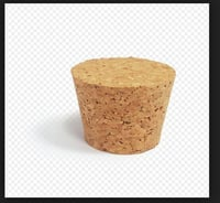 Highly Durable Conical Cork Stoppers