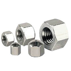 Heavy Stainless Steel Hex Nuts