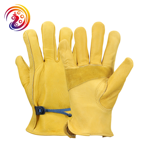 Gardening Work Leather Gloves