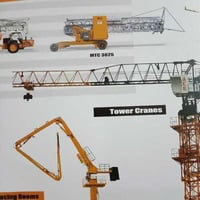Mobile Tower Cranes For Construction