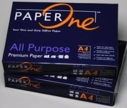 100% Wood Pulp A4 Copy Paper (Paperone)