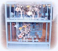 Prefab Burner Skid Assembly For Oil And Gas