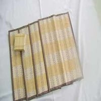 Natural Bamboo Dining Mats