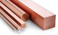 Copper Round And Flat Bars