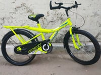 20.1.75 Bouncer Model Florowcent Color Tubeless Tyre Kids Bicycle