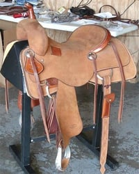 Western Leather Horse Saddle