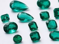 Emerald Gemstones Colombia Natural Cut Loose Top-quality Certified Free-shipping
