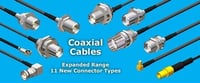 New Connector Type Coaxial Cable