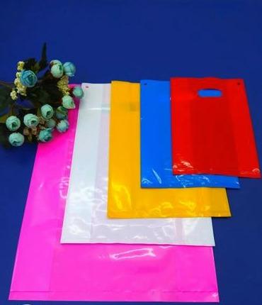 Fold Over Die Cut Bags