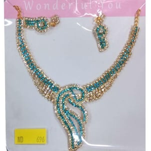 Stone Work Artificial Necklace Set